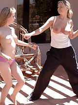 FTV Girls, Fiona Luv plays with Alison